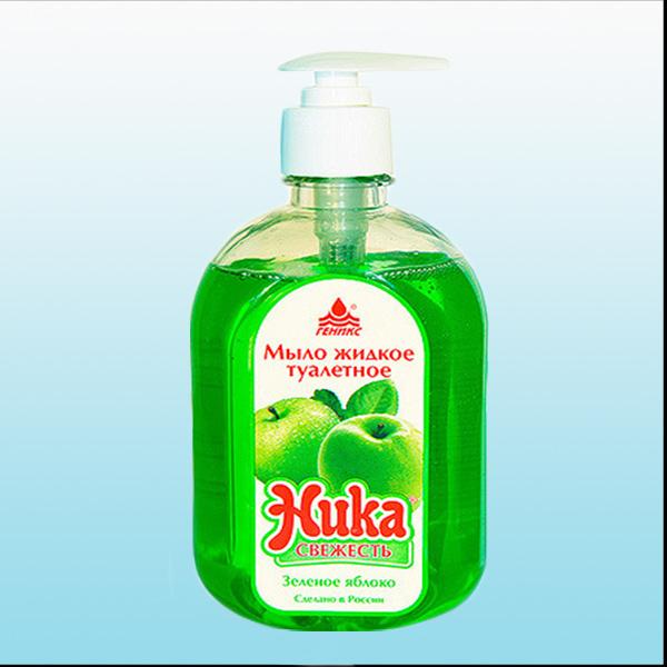 средство жидкое мыло Ника-Свежесть 0,5 л.