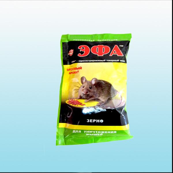 ЭФА зерно для мышей 40г орех доб