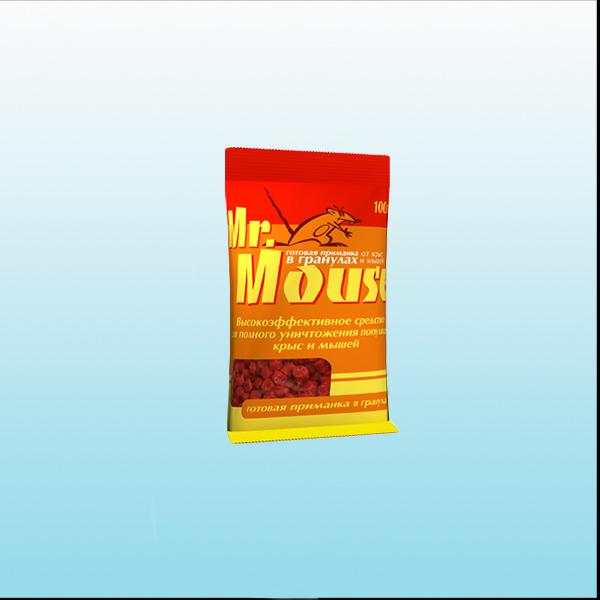 Mr Mouse гранулы 100г