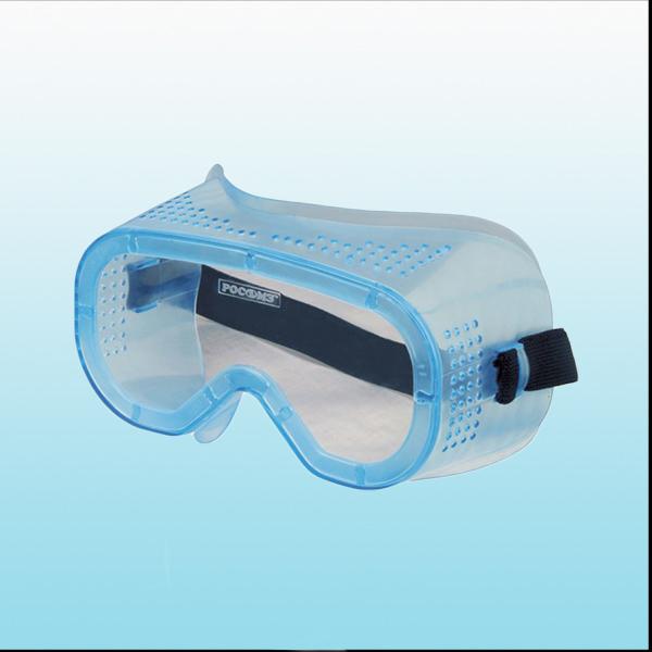 Очки защитные. картинка Очки защитные закрытые с прямой вентиляцией