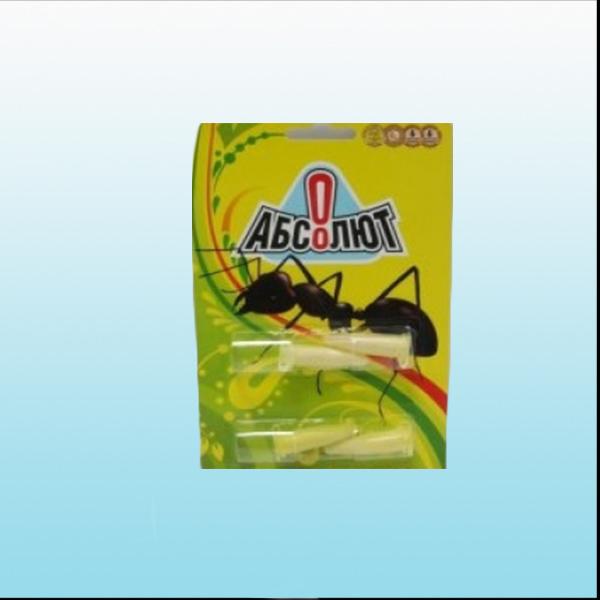 абсолют приманка от муравьев, 4 пробирки