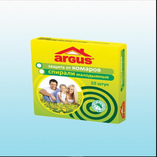 Аргус Спирали от комаров 10шт